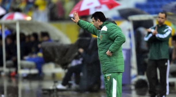 Julio Cesar Baldivieso, entrenador de Bolivia