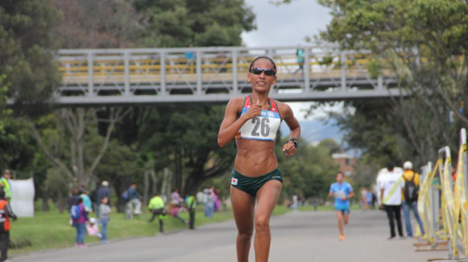 Kelly Arias, atleta colombiana.