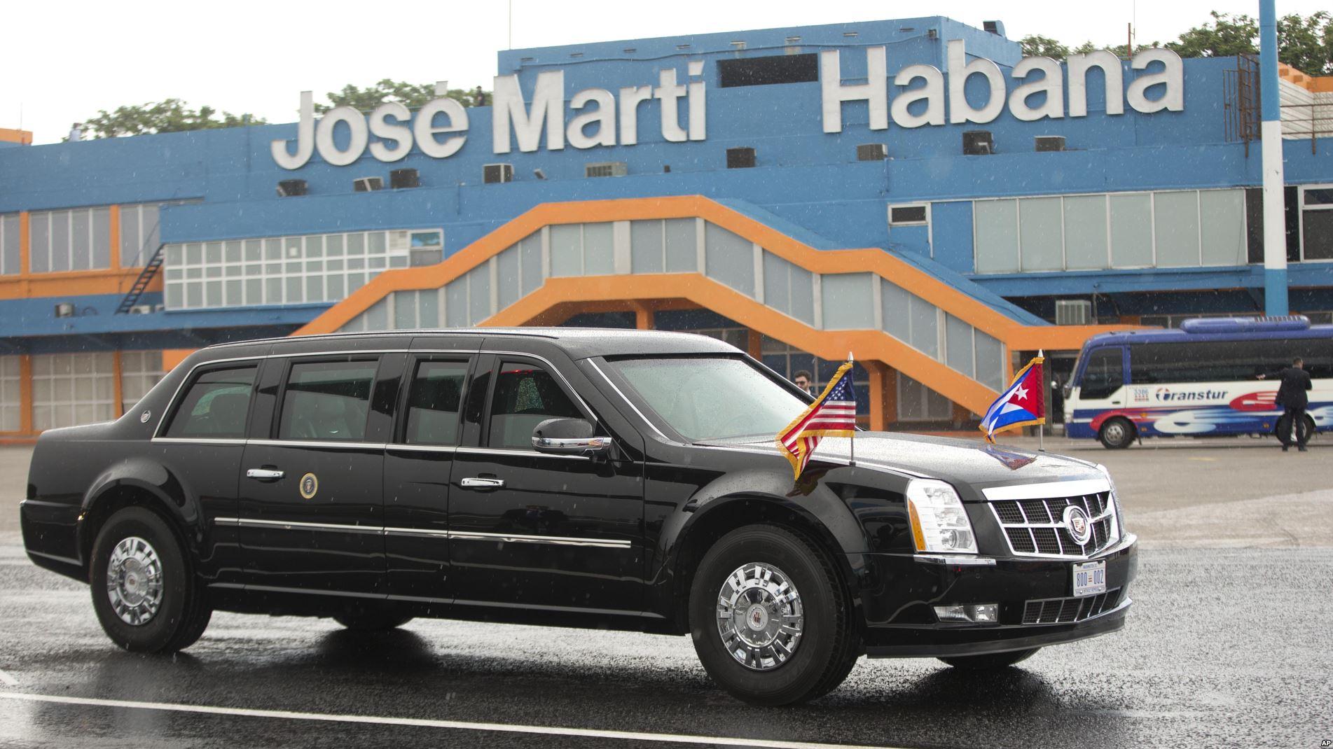 Llegada de Obama a la Habana