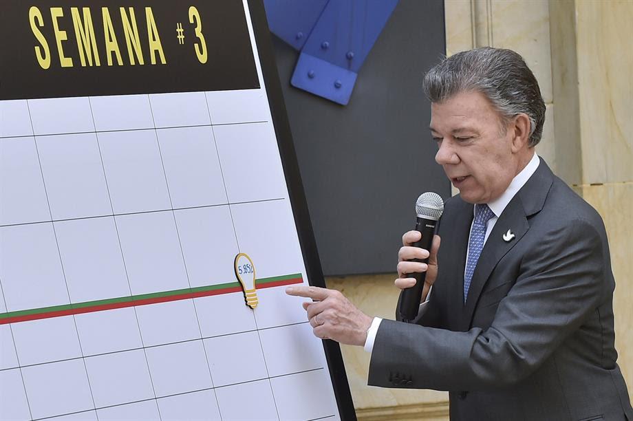 Los colombianos ahorraron 5,85 por ciento de energía al cierre de la Semana Santa