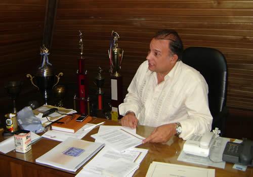 Manuel Sánchez, presidente de la Federación de Fútbol de Salón.