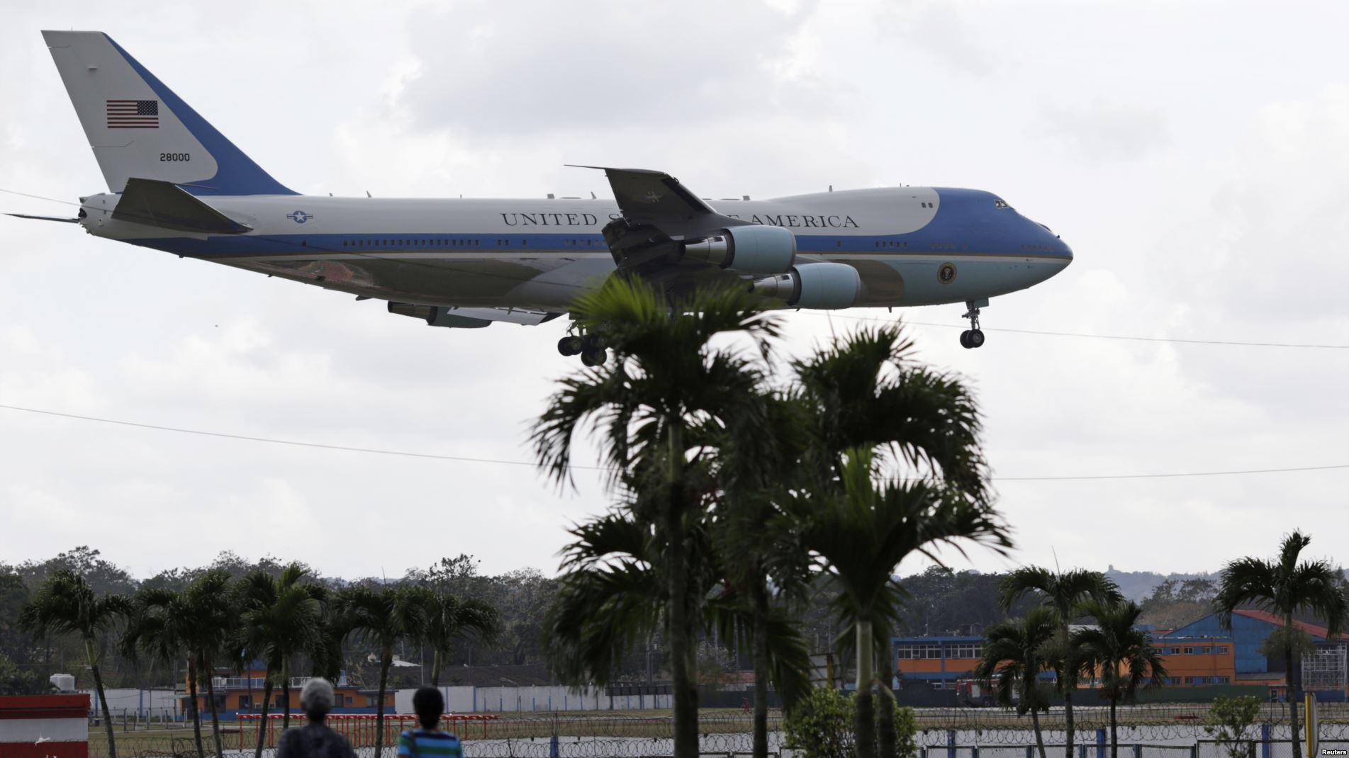 Obama Llega a la Habana