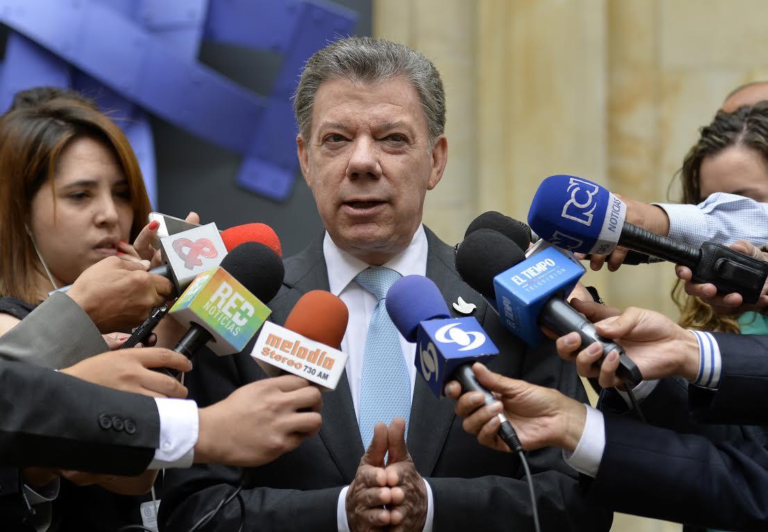 Presidente Santos anunció este martes que enviará a la Corte Suprema de Justicia una terna para escoger Fiscal General de la Nación