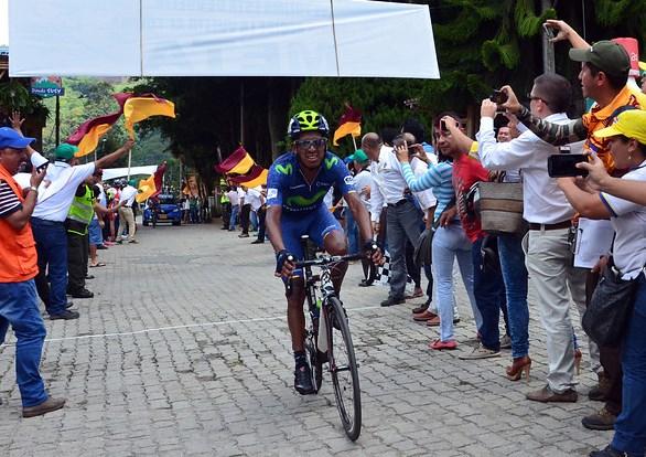 Óscar Soliz ganó Primera etapa de la Vuelta al Tolima