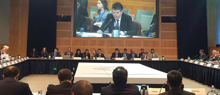 Al presidir las reuniones de primavera del FMI y del Banco Mundial, el Ministro Mauricio Cárdenas