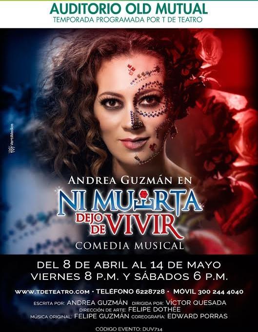 Andrea Guzman en NI Muerta dejo de vivir