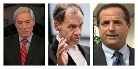 Bob Simon, David Carr y Ned Colt