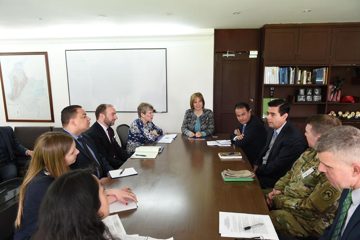Colombia y Estados Unidos fortalecen cooperación bilateral