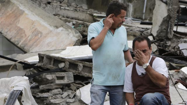 Como quedo todo despues del Terremoto en Ecuador