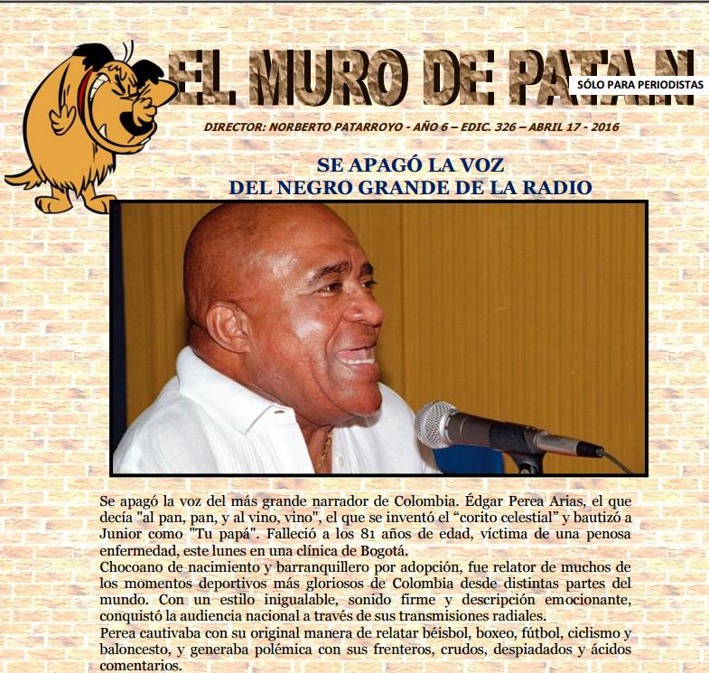 EDICIÓN 326 DE EL MURO