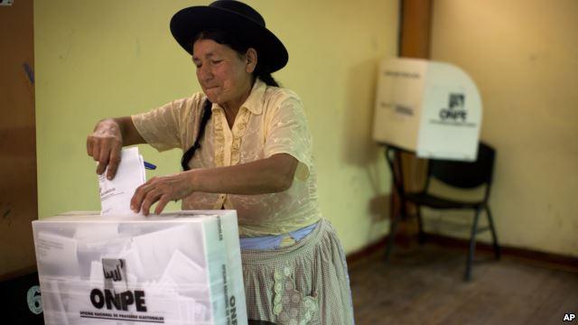 Elecciones en el Peru
