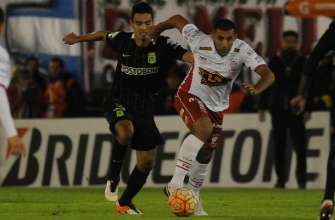Empate sin goles entre Huracán y Atlético Nacional