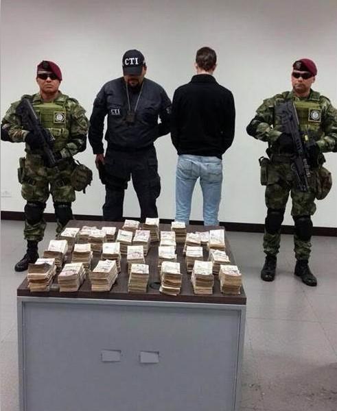 Funcionario del Congreso fue capturado con $613 millones de las Bacrim