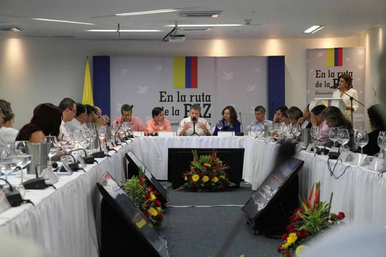 Gobierno y partidos políticos acuerdan comisión técnica para implementar el acuerdo de Participación Política en La Habana3