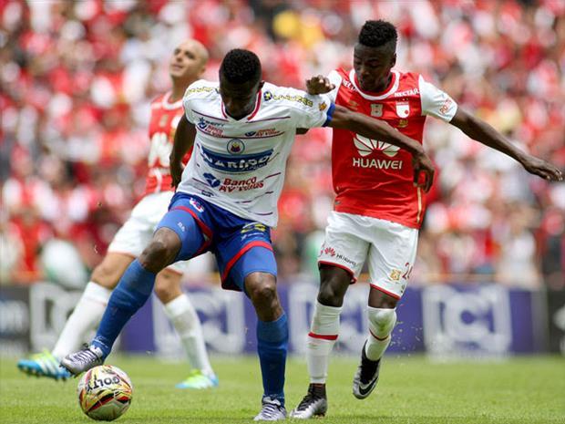 Independiente Santa Fe derrotó 2-1 al Deportivo Pasto
