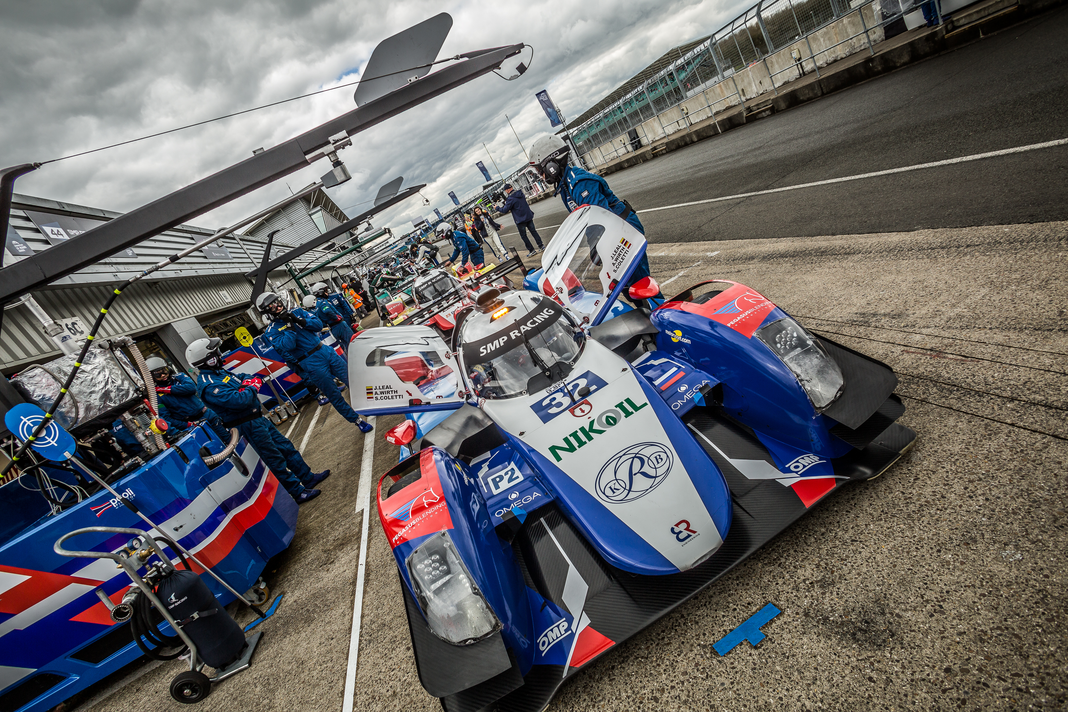 Car # 32 / SMP RACING / RUS / BR 01 - Nissan / Stefano Coletti (MCO) / Julian Leal Covelli (COL) / Andreas Wirth (DEU) - ELMS 4 Hours of Silverstone  - Silverstone Circuit - Towcester, Northamptonshire - UK