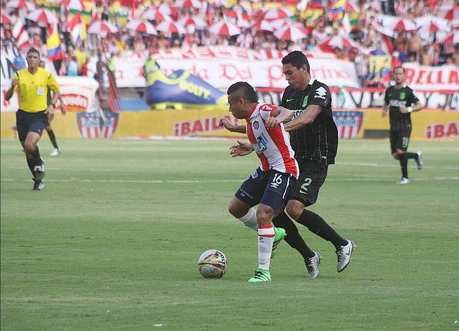 Junior y Nacional comparte liderato de la Liga