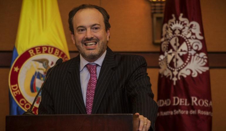 Luis Guillermo Vélez nuevo secretario general de la Presidencia
