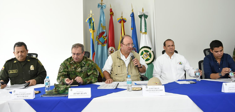 Mindefensa visitó este viernes Inírida (Guainía)12