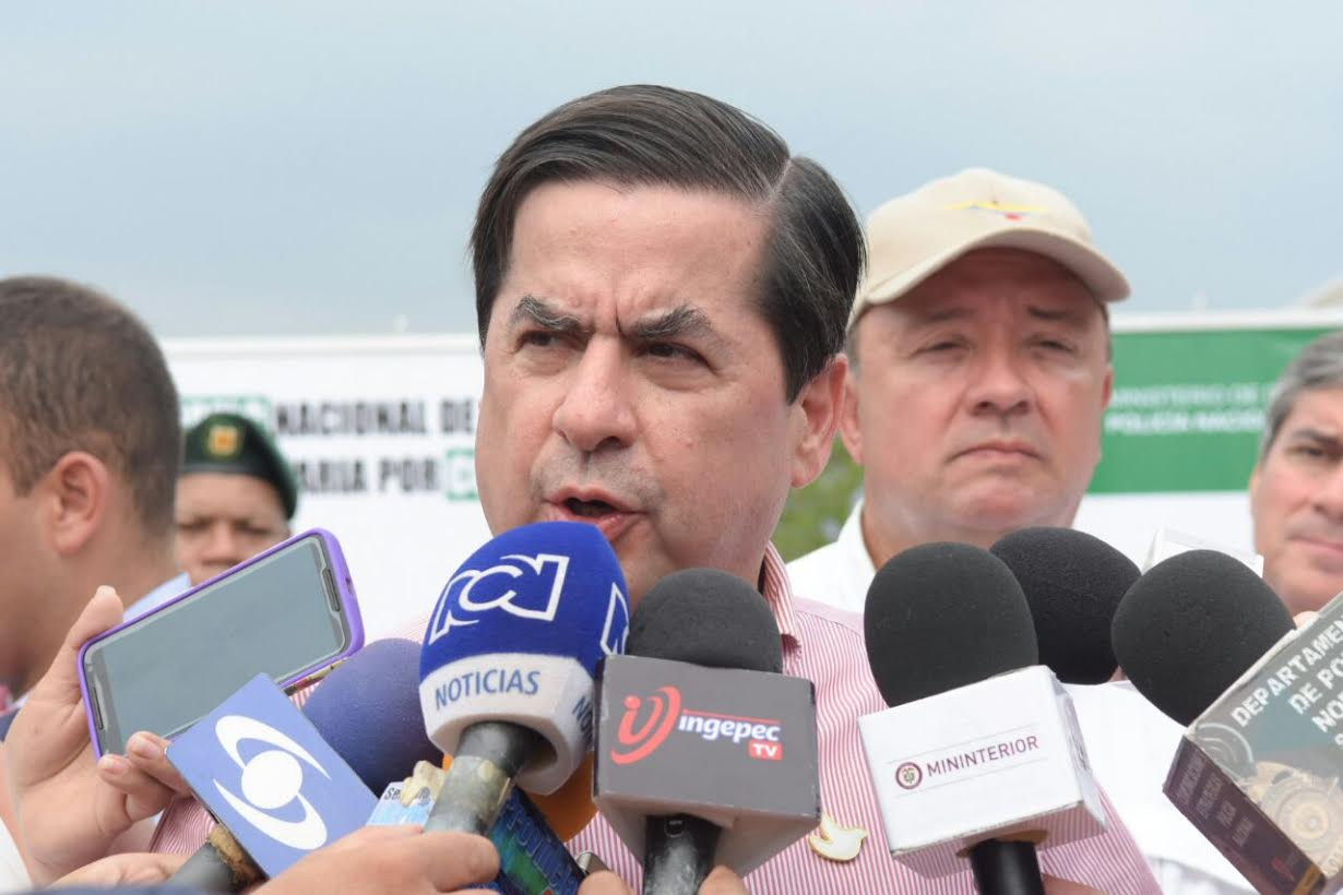 Ministros de Interior y Defensa anuncian más fuerza pública y nuevos comandos para zona del Catatumbo