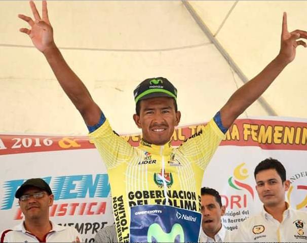 Oscar Soliz, campeón de la Vuelta al Tolima.