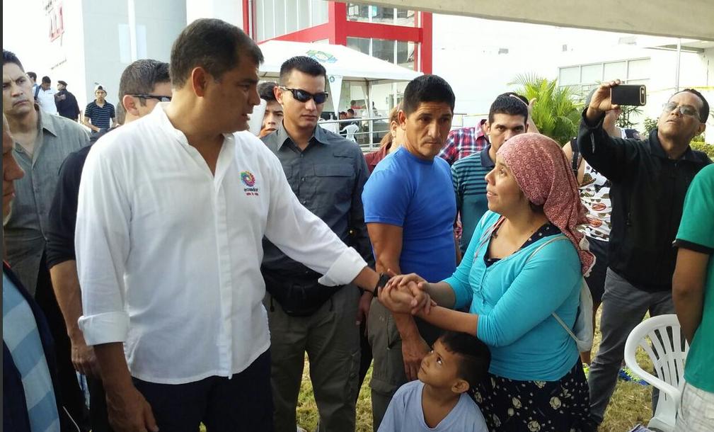 Presidente Correa -Terremoto Ecuador.4 (1)