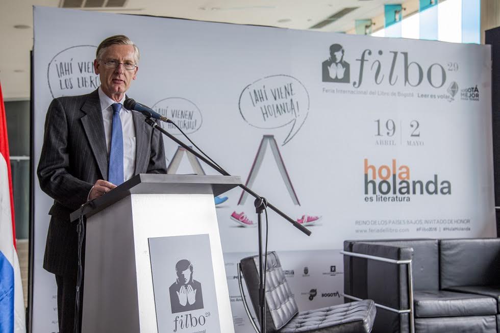 Robet van Embden, Embajador de Holanda en Colombia