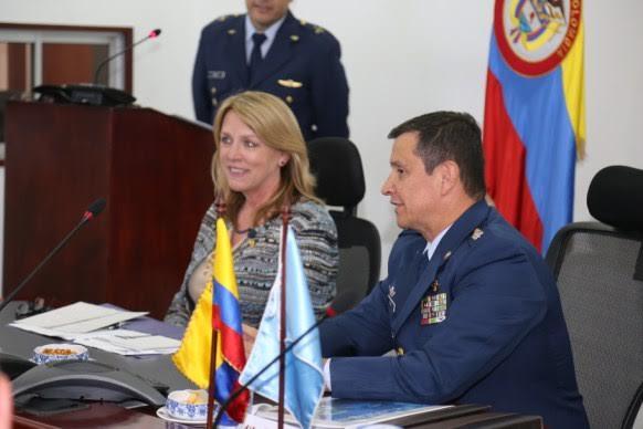 SECRETARIA DE LA FUERZA AÉREA DE LOS ESTADOS UNIDOS En Colombia4