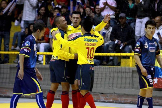 Selección Colombia de microfútbol.