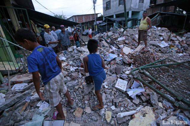 Terremoto en Ecuador 170416