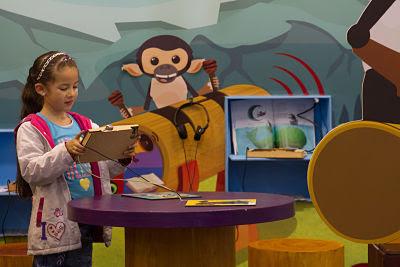 En FILBo 2016, espacio privilegiado de MinCultura para la lúdica y la creatividad infantil. Foto: MinCultura