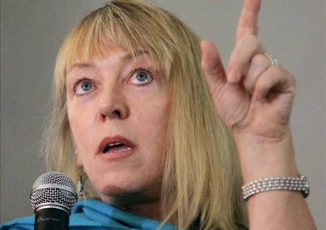 Jody Williams, Premio Nobel de Paz (1997), una de las panelistas en el ciclo de narrativas 'De la guerra a la paz'. Foto: lumiere.com