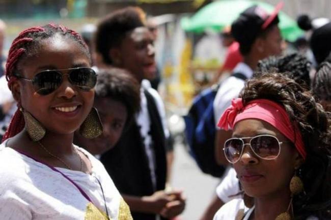 Afros en Colombia