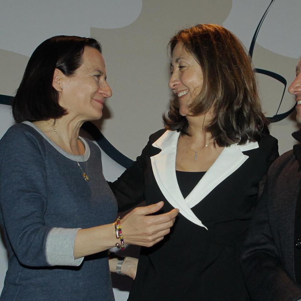 Ahora si, la foto de la reconciliación entre Clara Rojas e Ingrid Betancourt