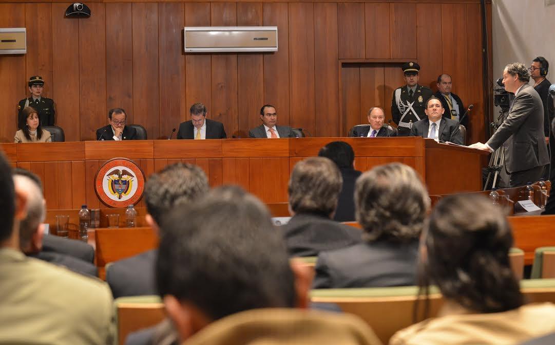Alto Comisionado para la Paz en la Corte Constitucional