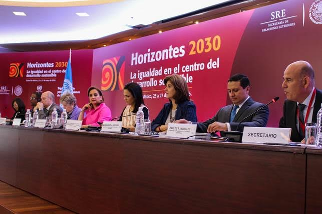 Canciller María Ángela Holguín participó en el diálogo de Cancilleres y Altas Autoridades en el trigésimo sexto período de sesiones de la Cepal