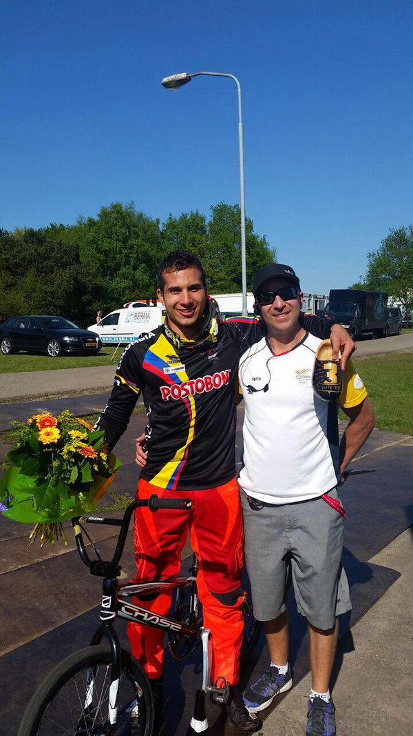 Carlos Ramírez se encumbra en la élite mundial del BMX2