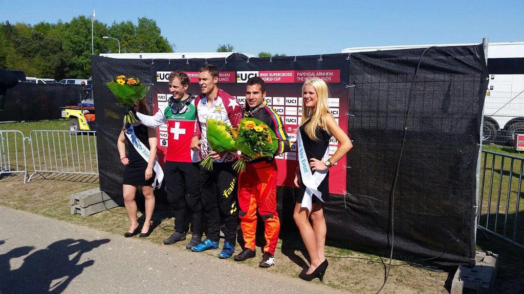 Carlos Ramírez se encumbra en la élite mundial del BMX3