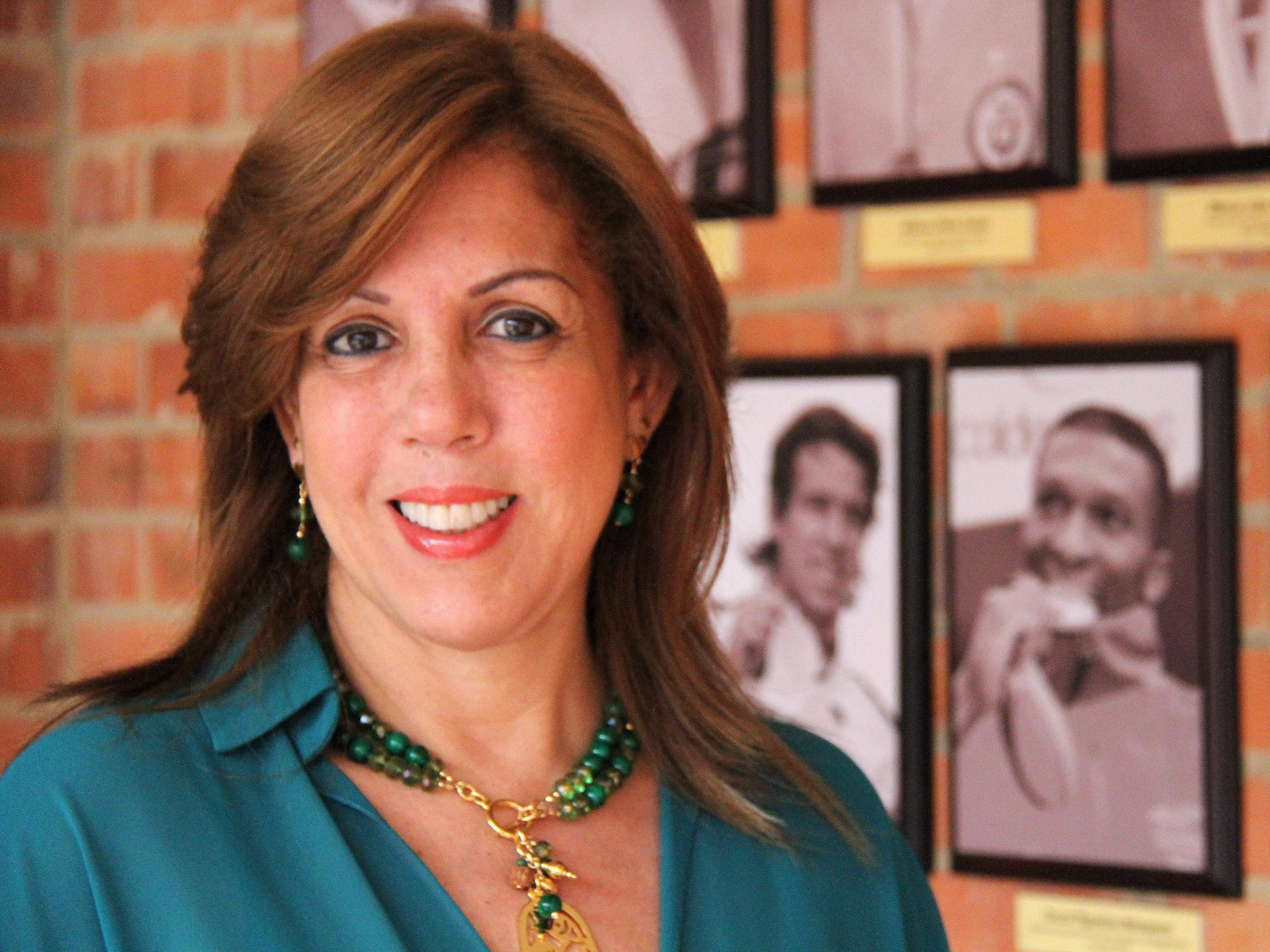 Clara Luz Roldán  directora de Coldeportes