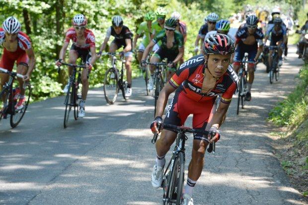 Darwin Atapuma, ciclista colombiano.