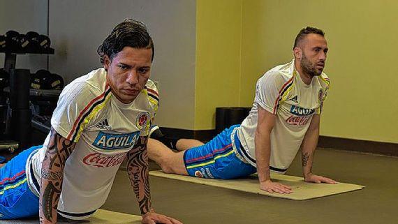 Dayro y Ospina son dos de los que ya comenzaron las prácticas