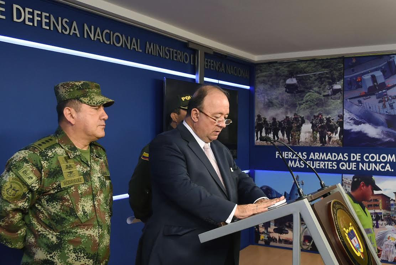 Declaraciones Mindefensa Caso Comunicadores desparecidos en Norte de Santander