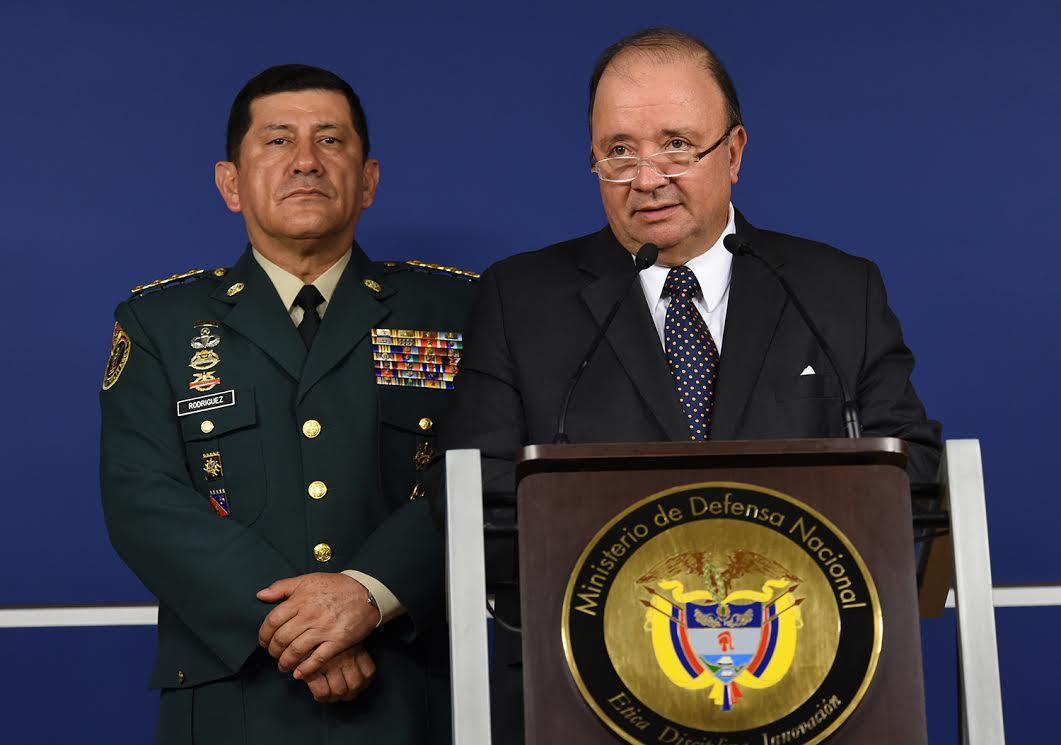 Declaraciones del ministro de Defensa, Luis Carlos Villegas, relacionadas con las recientes violaciones al cese unilateral de hostilidades por parte de las Farc.