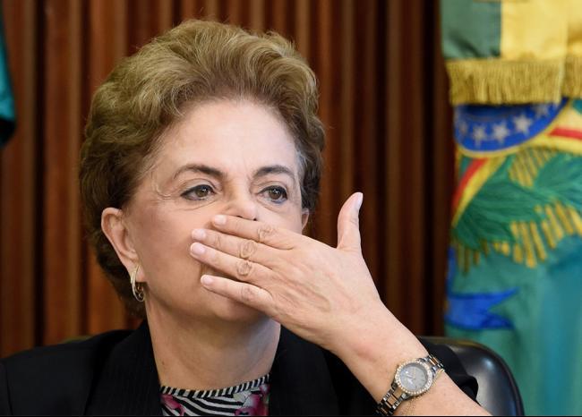 Dilma Rousseff Suspendida