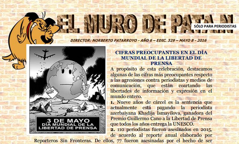 EDICIÓN 329 EL MURO DE PATA.N