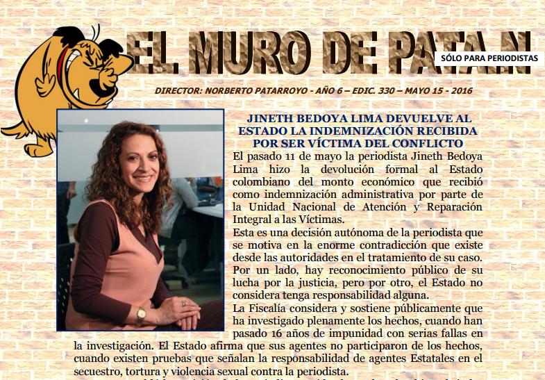 EDICIÓN 330 EL MURO DE PATA.N