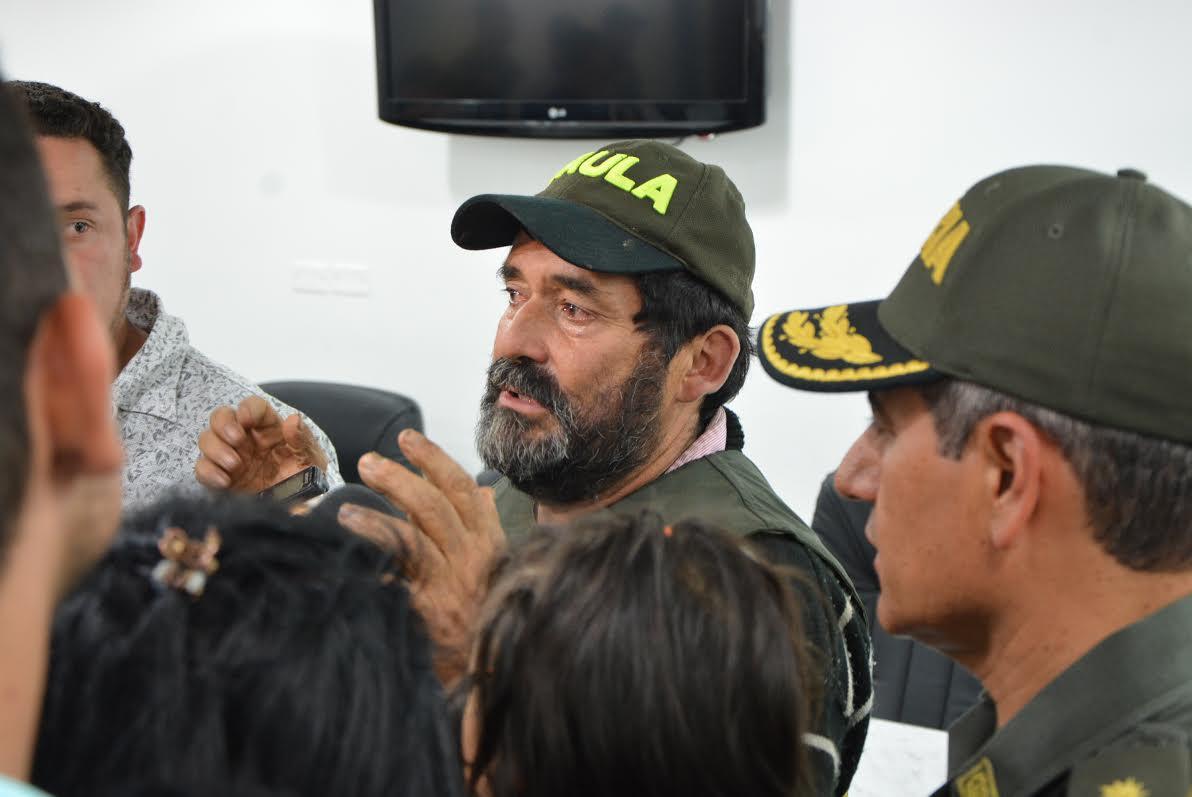 EL GAULA REGRESÓ A LA LIBERTAD al señor Francisco Antonio Pinto Vera4