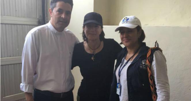 ELN libera a la periodista Salud Hernández