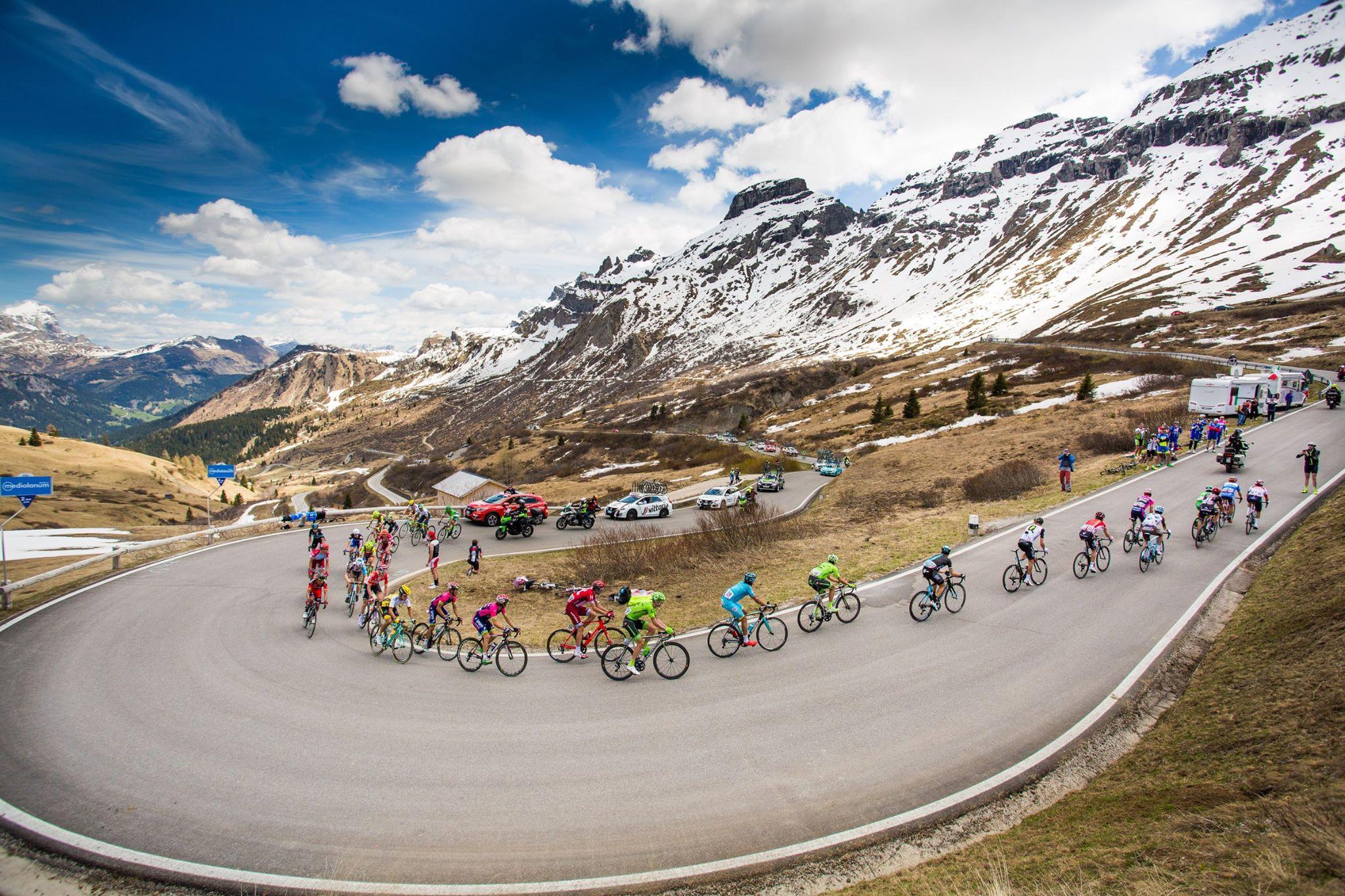 El desafio de los Gigantes en el Giro