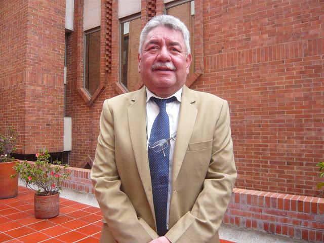 El señor Parmenio Rivera, alcalde de Socha, provincia boyacense donde nació Fernando Soto Aparicio. Foto: la Pluma & La Herida